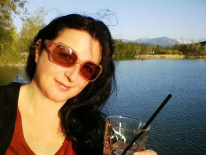 Dagmar Travner am Wörthersee. #selfie. ©ebenda ;)